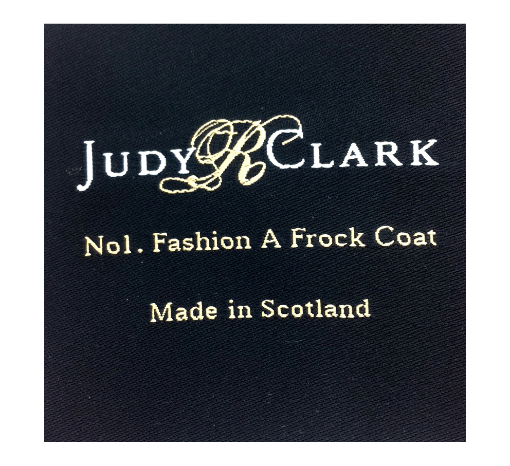 Fashion A Frock Coat Labels